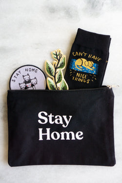 Stay Home Pouch - Proper-Shops