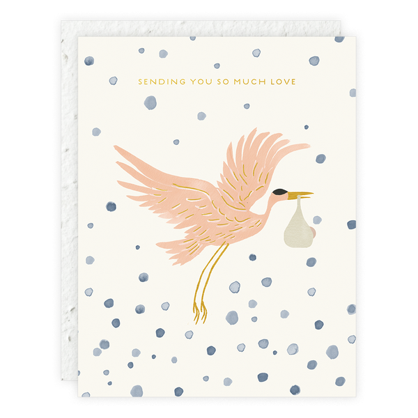 Stork Delivery Card - Proper-Shops