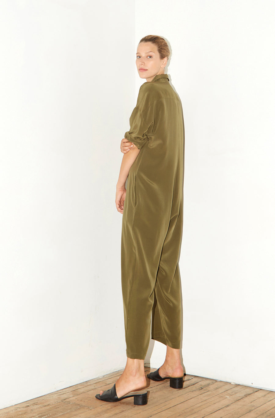 Olive Green Ren Jumpsuit