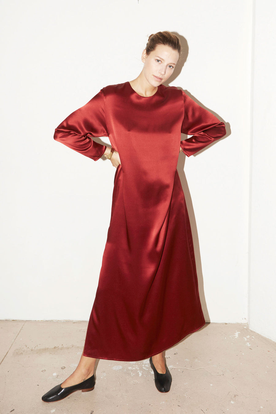 Ruby Red Ava Dress