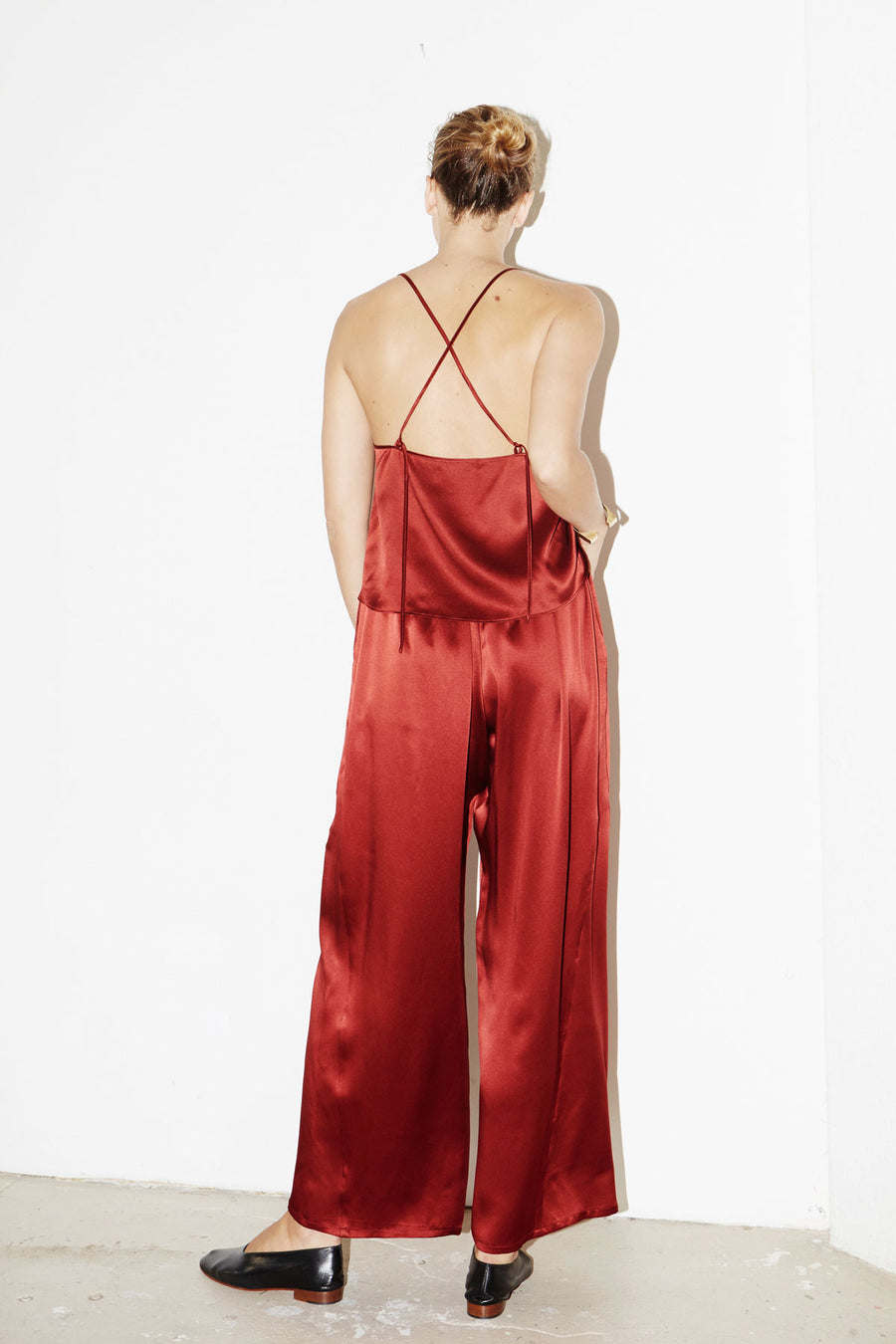 Ruby Red Judo Pants