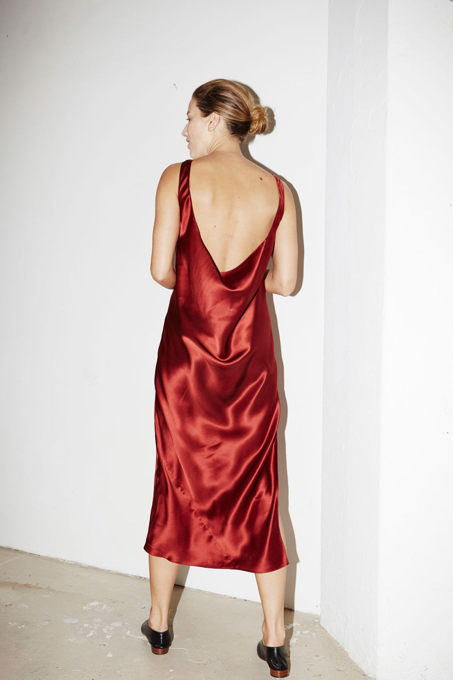 Ruby Red Anna Dress