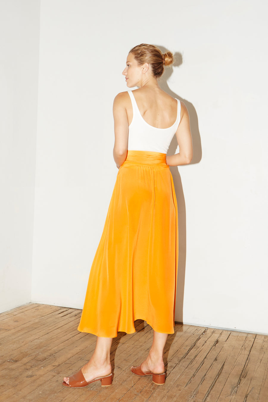 Citric Orange Alma Skirt
