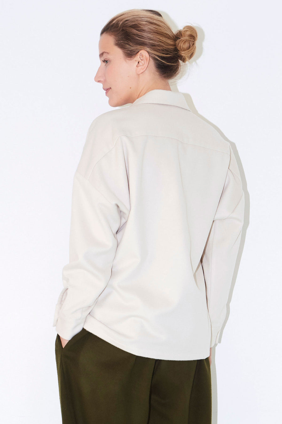 Bone Wool Ren Shirt