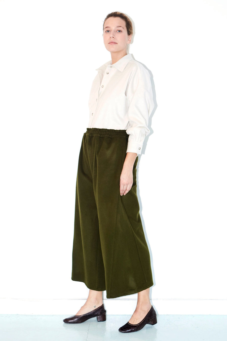 Sencha Wool Karate Pants