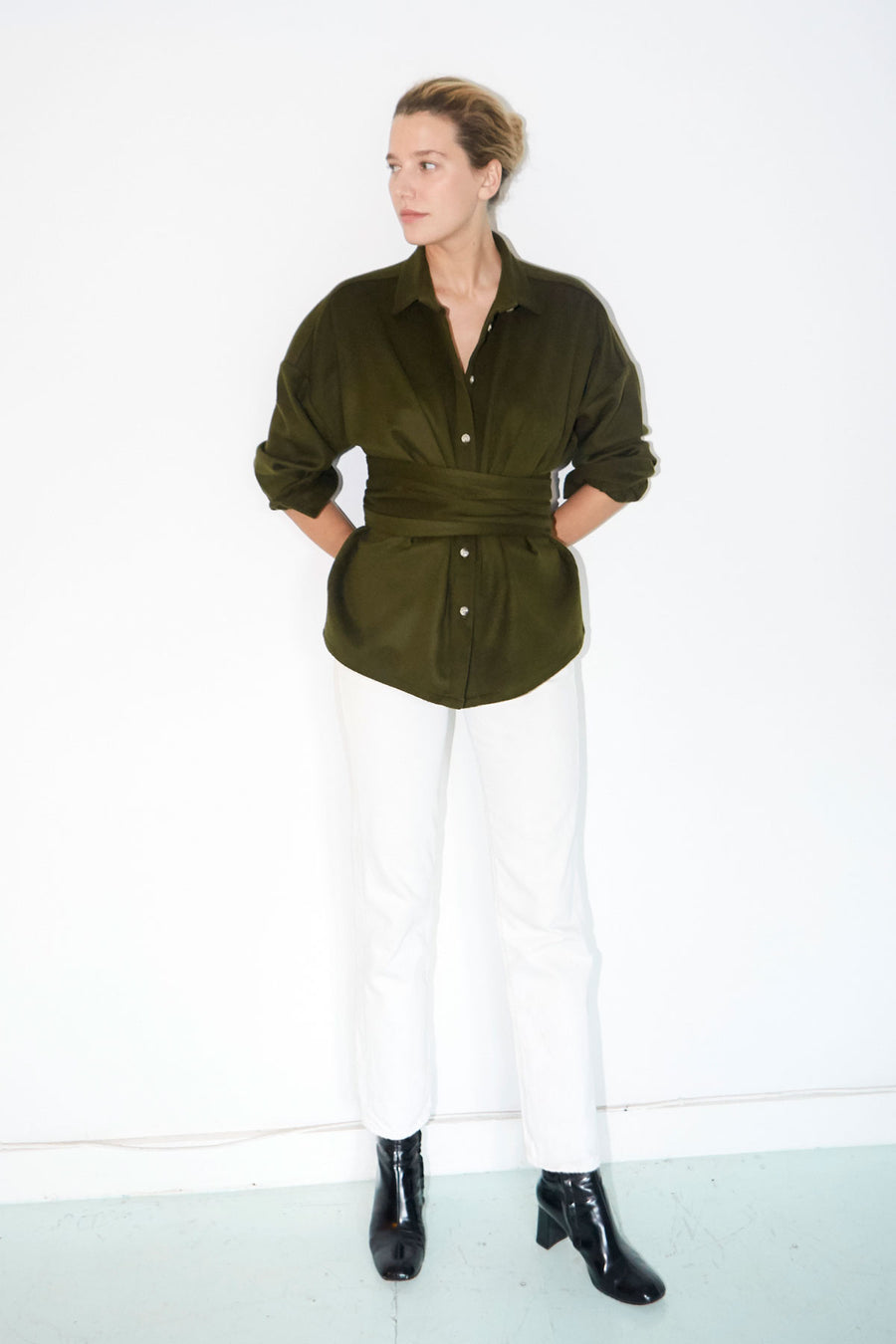 Sencha Wool Ren Shirt
