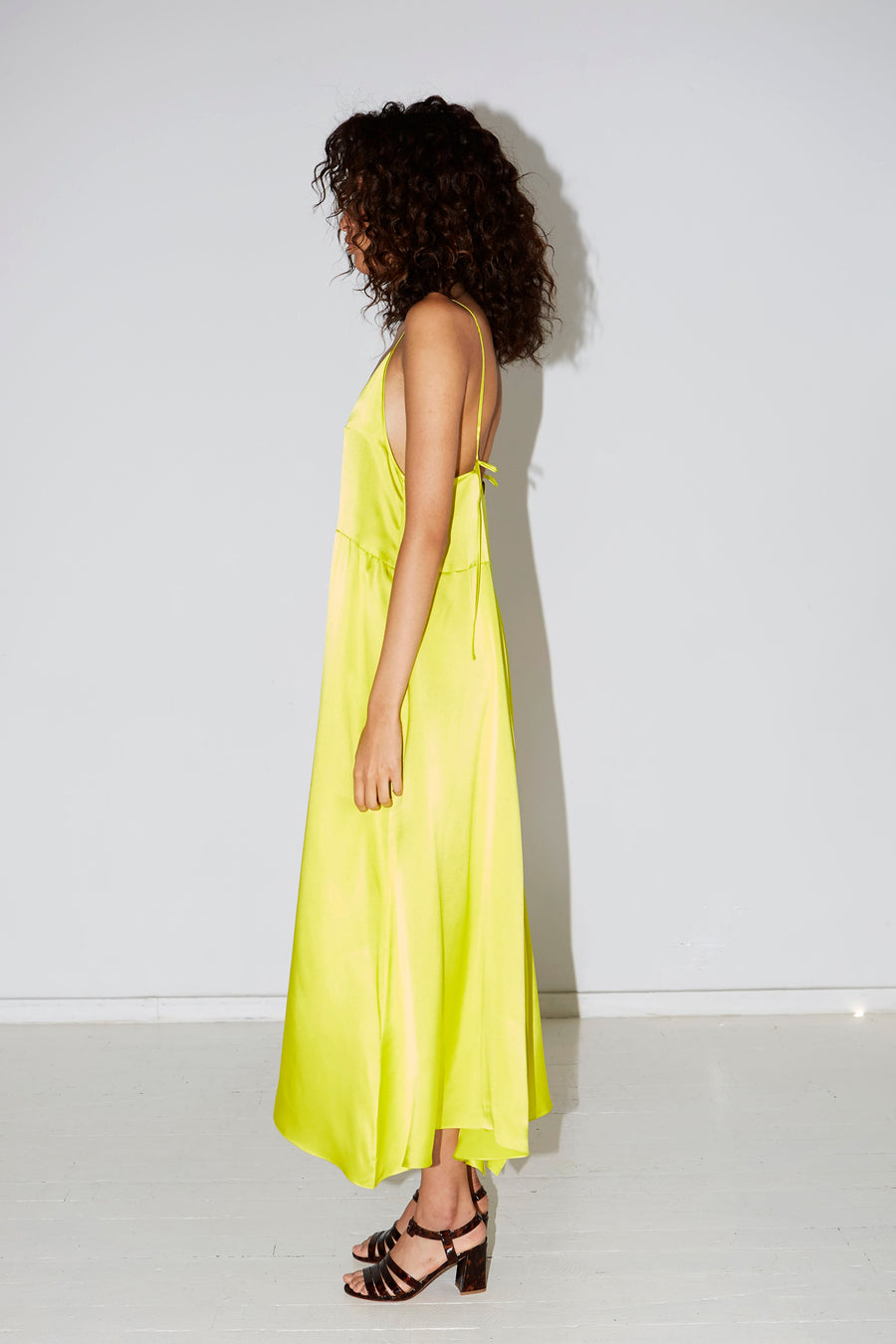 Citron Slip Dress
