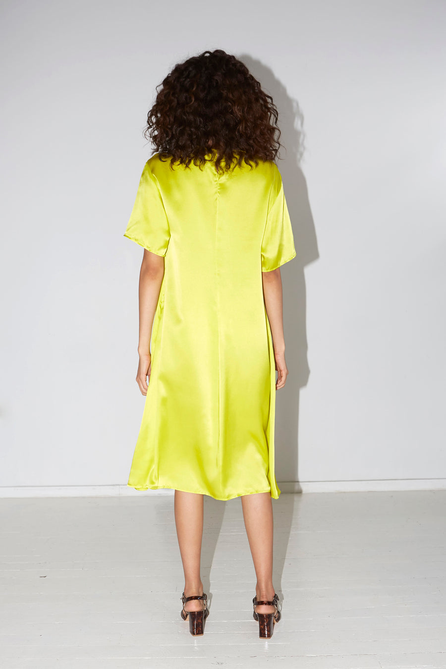 Citron Solar Dress