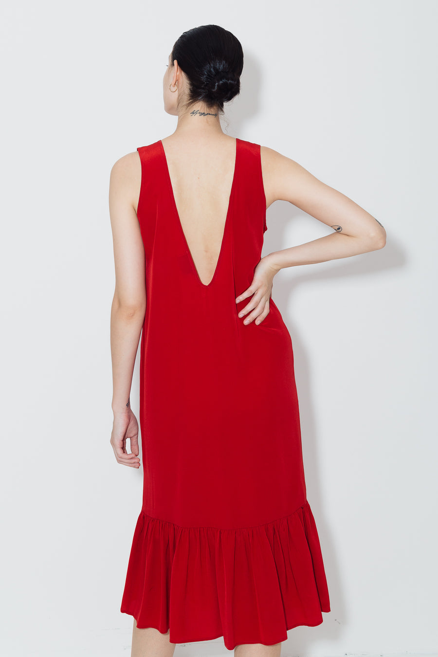 Passion Red Carmen Dress