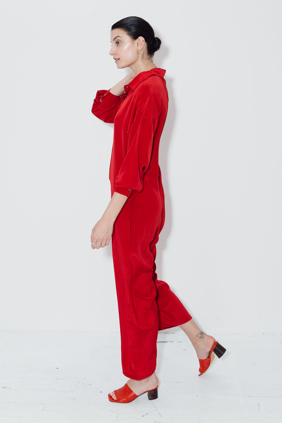 Passion Red Ren Jumpsuit