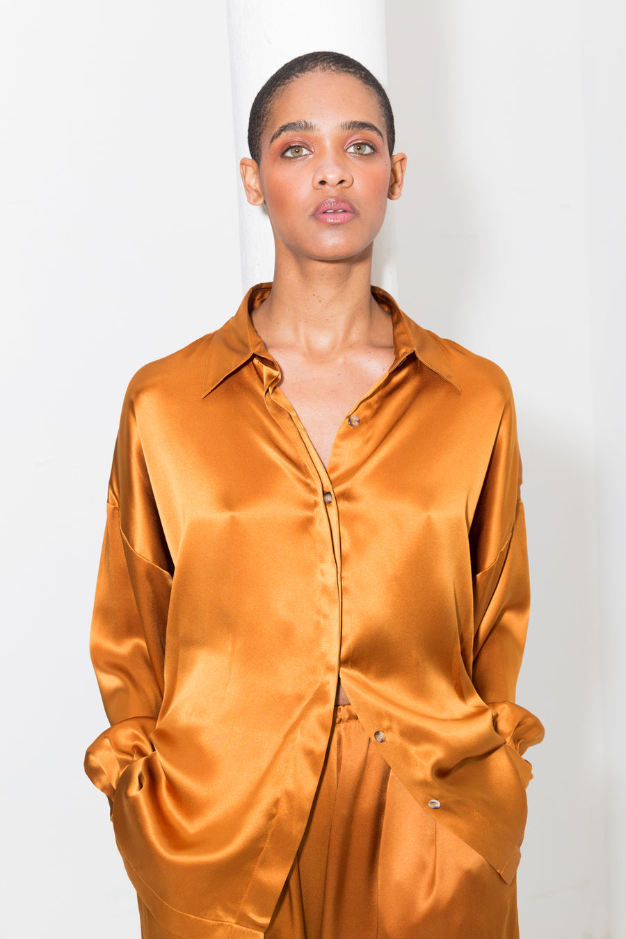 Gold Amber Ren Blouse