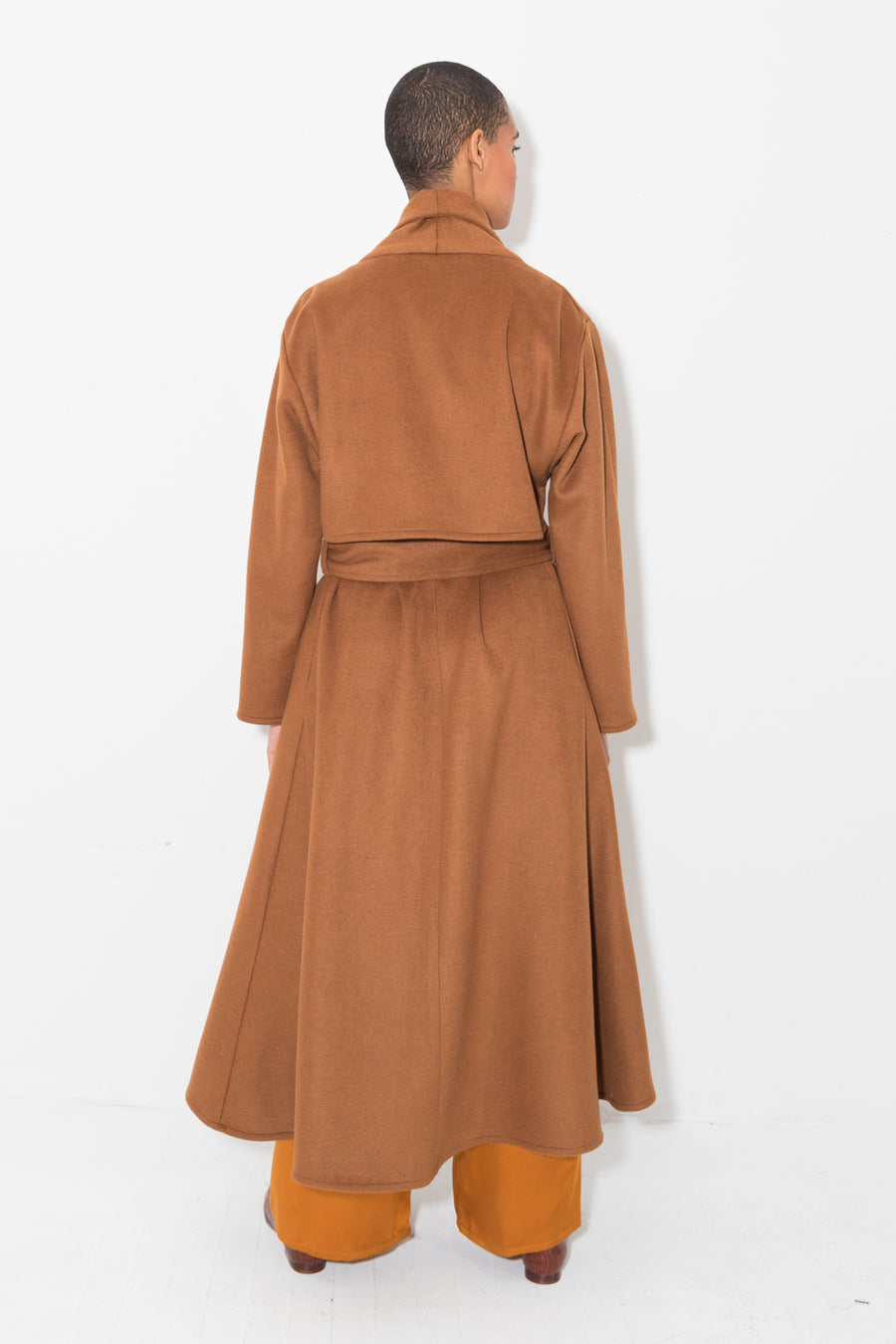 Terra Wool Trench Coat