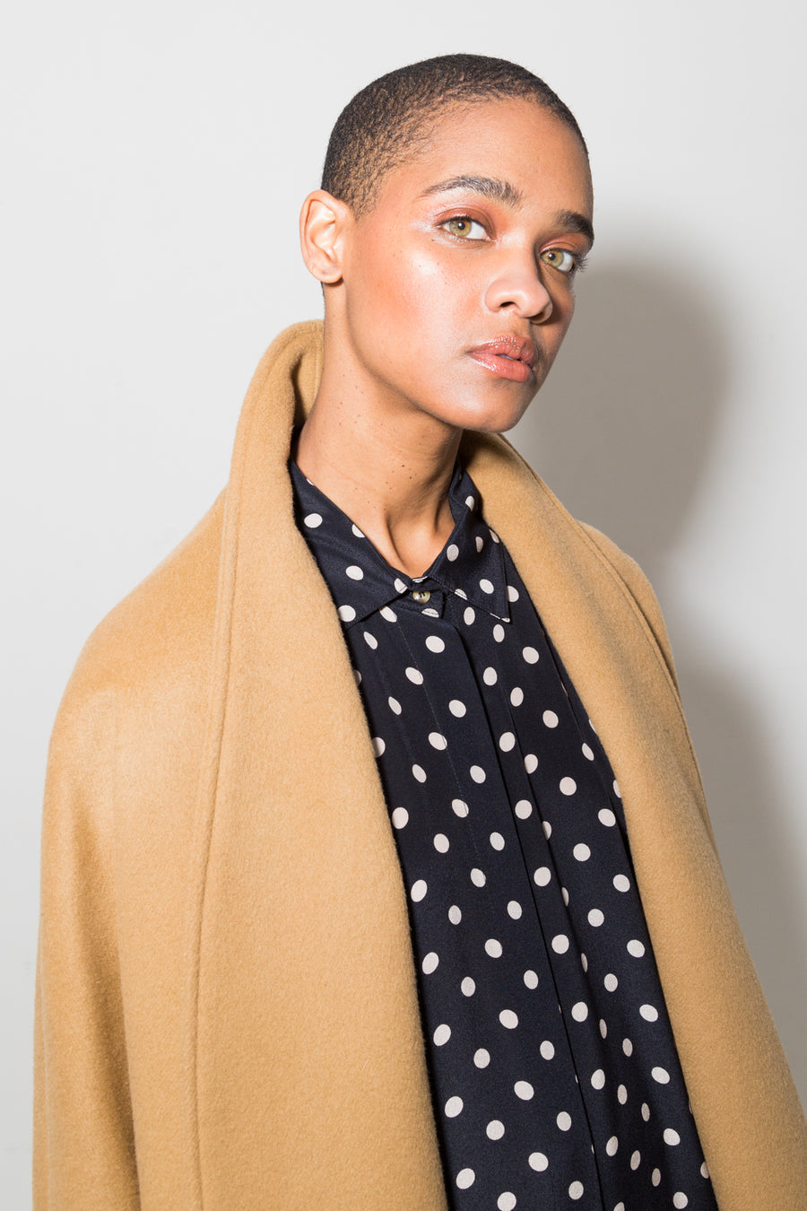 Camel Wool Escape Coat