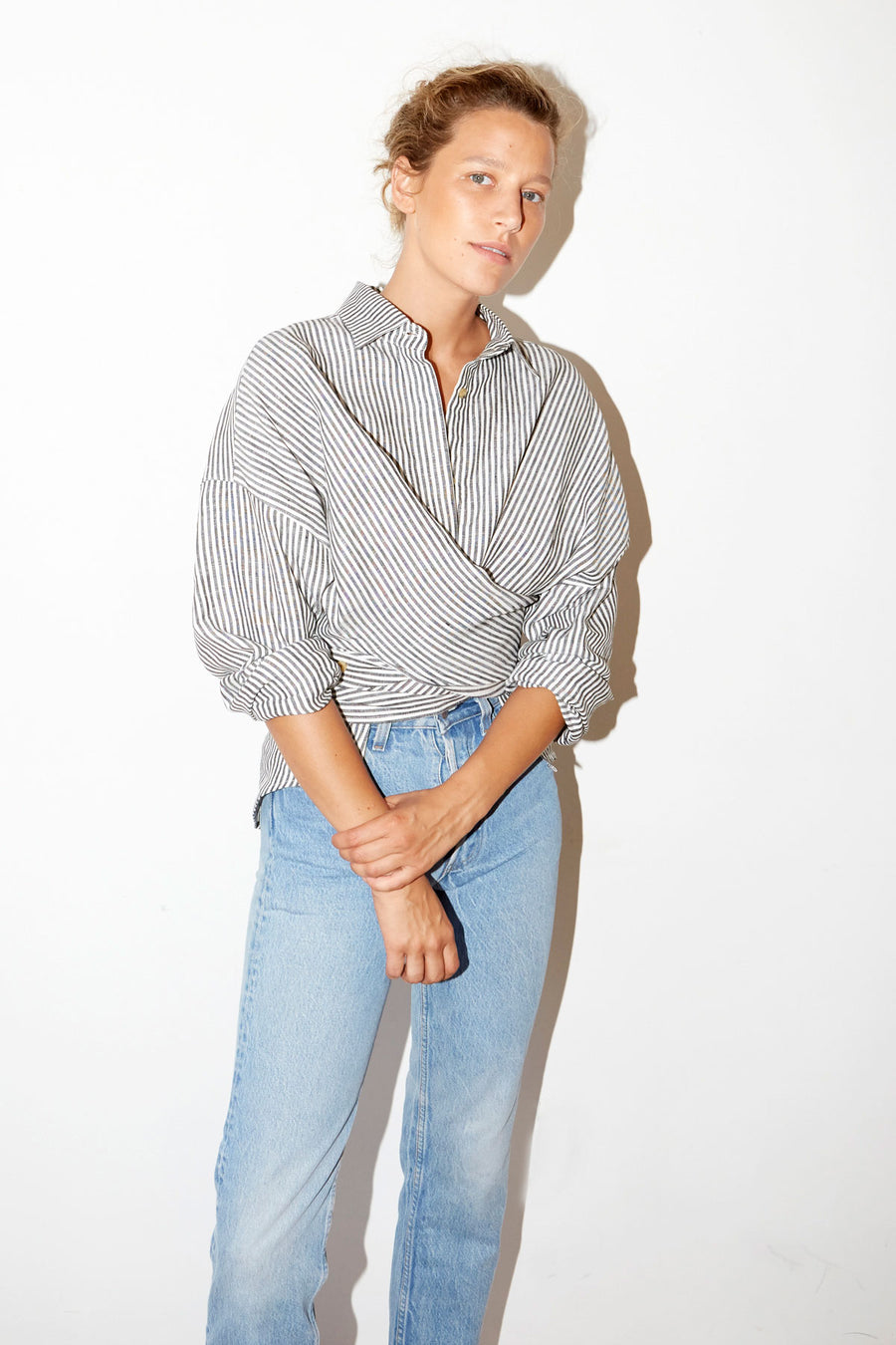Striped Linen Lola Shirt