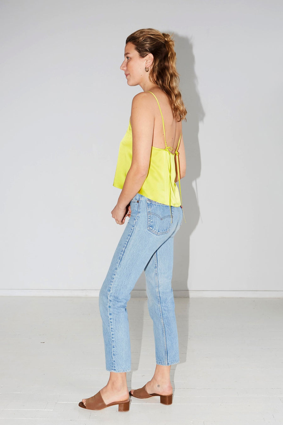 Citron Slip Top