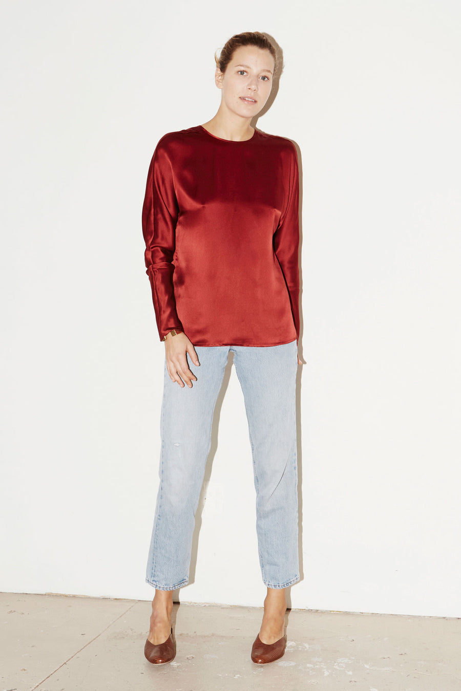 Ruby Red Esther Top