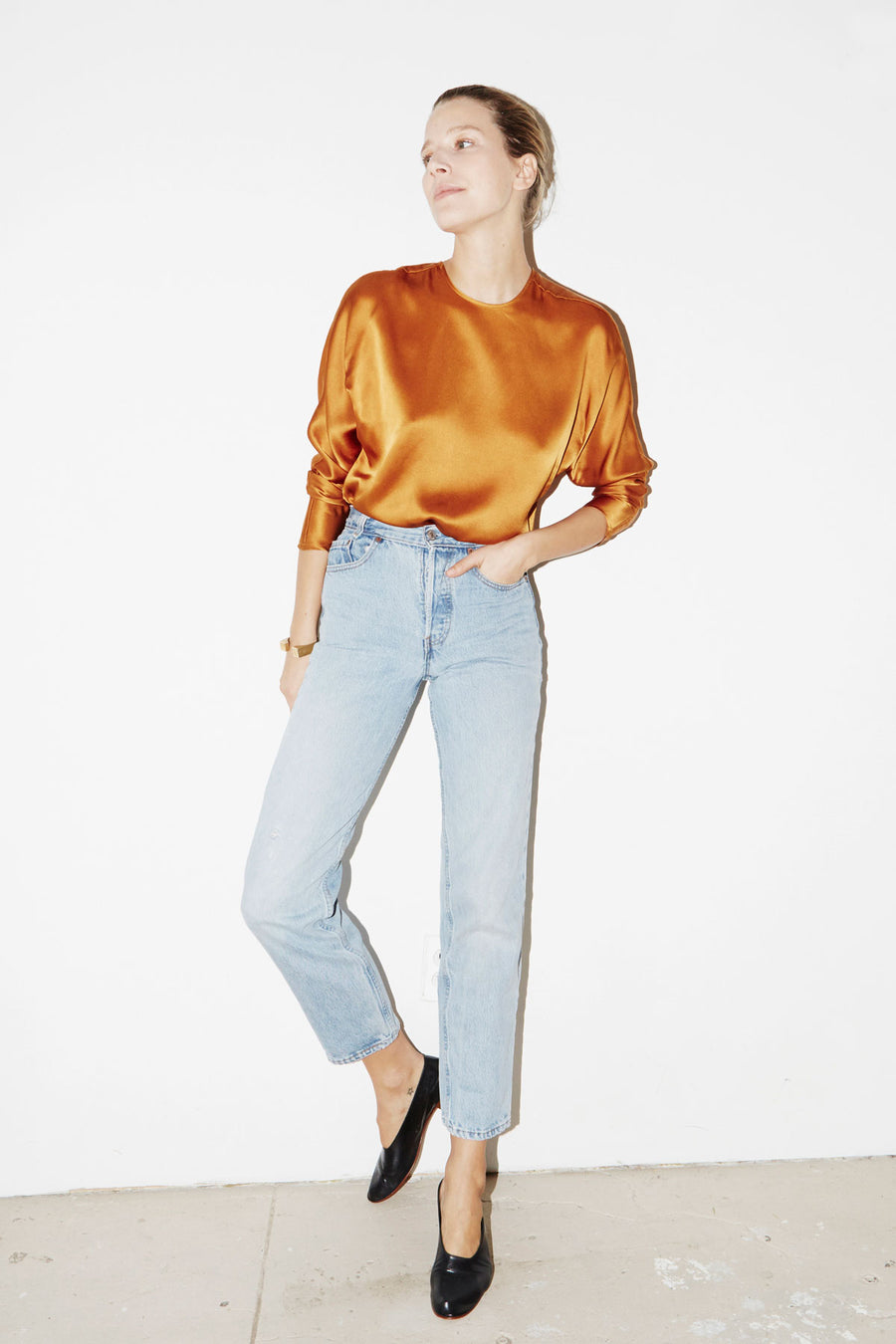 Gold Amber Esther Top