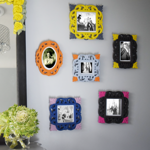 How to paint your DIY Frames