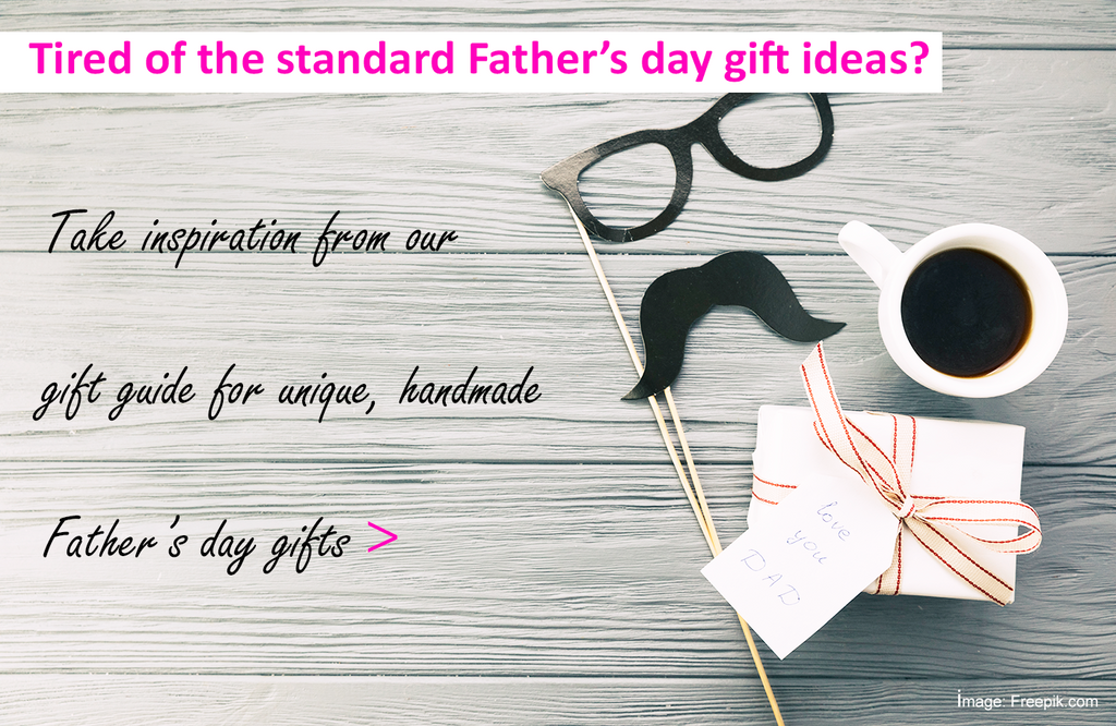 Tired of the standard Father's day gift ideas?