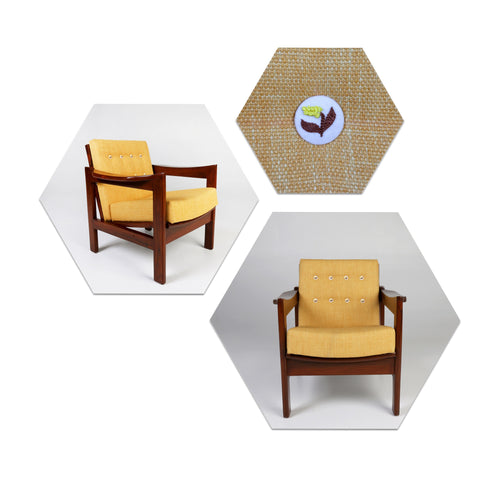 Tulsi Lounge Chair Ochre