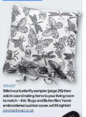 Bugs and Butterflies in Cross-stitcher magazine