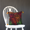"Autumn Leaves, Embroidered Cushion Cover 16"" x 16"""