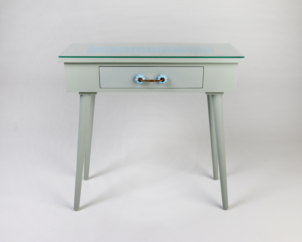 Sleti Tile Top Console Table