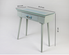 Sleti-Grey Tile Top Console Table