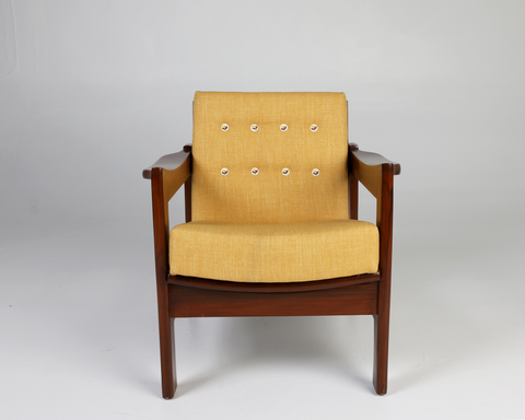 Tulsi-Ochre Lounge Chair