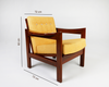 Tulsi-Ochre Lounge Chair w measurements