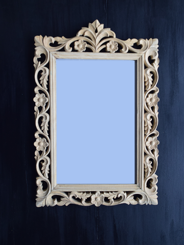 DIY Carved Wooden Frame - 53cm x 35cm