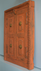 Vintage Indian window-orange