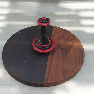 King - Chess inspired wooden platter
