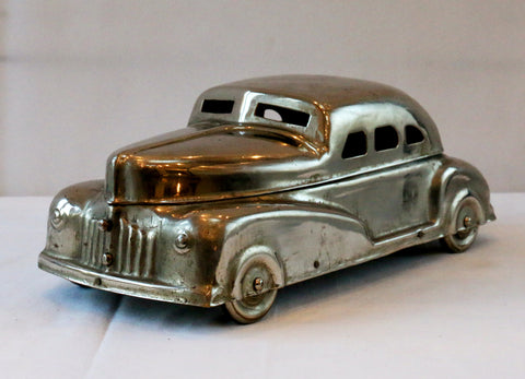Vintage brass 54' Chevy betel nut holder collectible