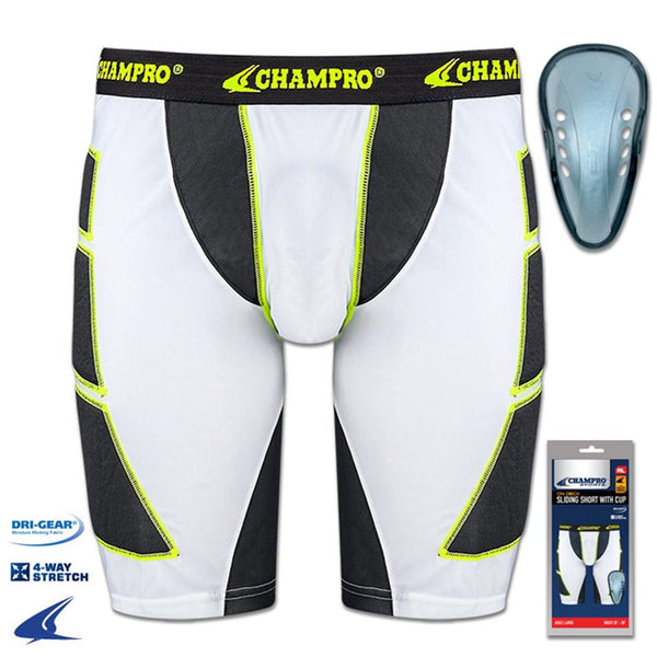 Champro On Deck Sliding Short with Cup Youth | allstarptc.shop