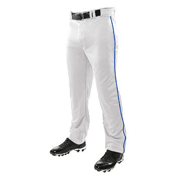 Champro Baseball Pants Triple Crown Open Bottom w/ Piping Youth | allstarptc.shop