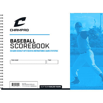 Champro Official Baseball & Softball Scorebook | allstarptc.shop