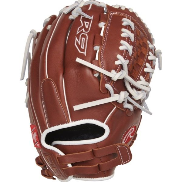 "Rawlings R9 Series 12"" R9SB120FS-18DB Finger Shift Softball Glove 
