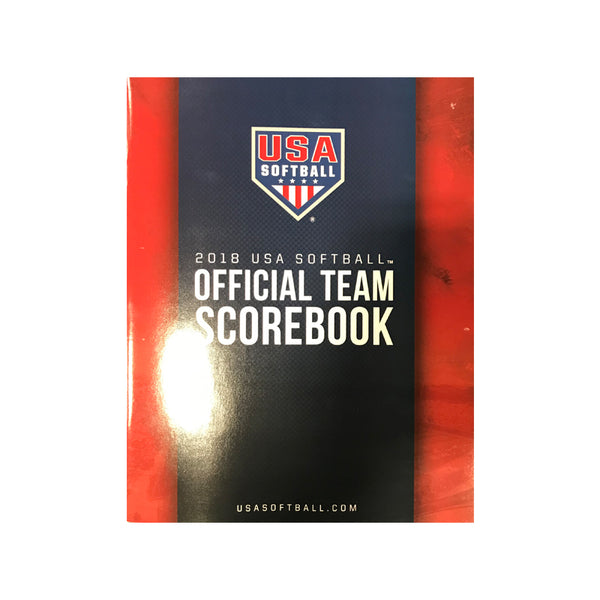 USA Softball 2018 USA Softball Official Team Scorebook | allstarptc.shop