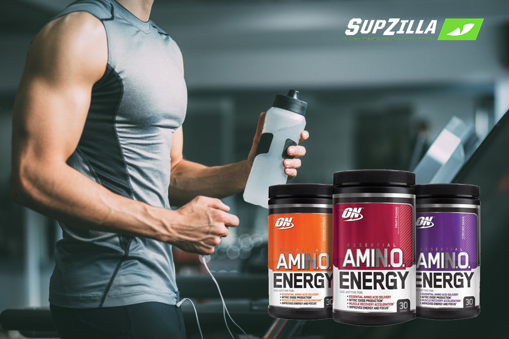 Product Review: Fuel Your Day with Amino Energy from Optimum Nutrition
