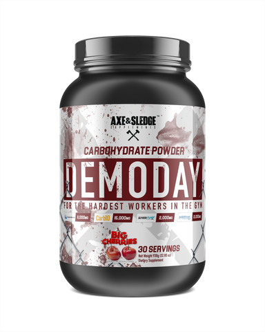 Axe & Sledge Demo Day Carbohydrate Powder 30sv