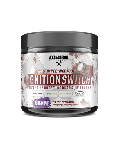 Axe & Sledge Ignition Switch Stimulant Pre-Workout 200g 40sv