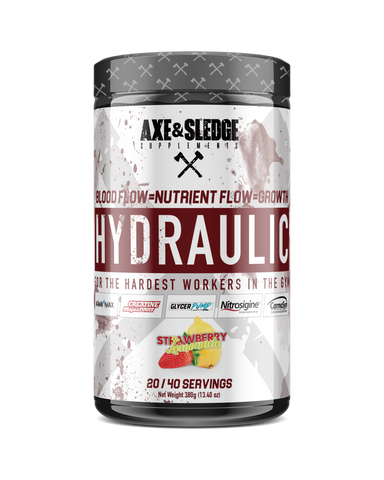 Axe & Sledge Hydraulic Non-Stimulant Pre-Workout Pump 380g 40sv