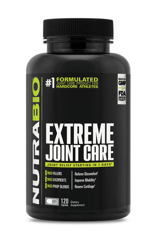 Nutrabio Extreme Joint Care 120 Vegetable Capsules