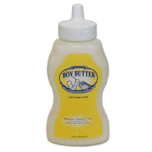 Boy Butter 9 oz (266 ml) Squeeze Bottle Personal Lubricant Boy Butter