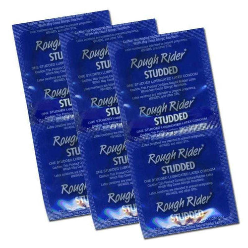 Rough Rider Studded - Bulk 6 Pack Condoms Ansell Healthcare Inc.