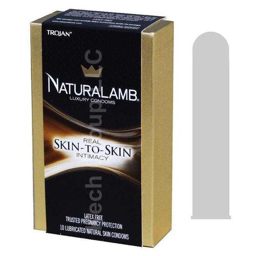 Trojan Naturalamb Luxury Condoms 10 pk Condoms Church & Dwight Co.