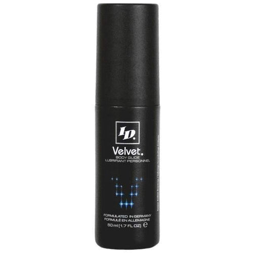ID Velvet Silicone Body Glide Personal Lubricant Westridge Laboratories Inc 1.7 oz ( 50 mL)