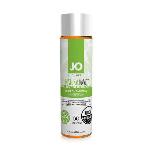 JO NaturaLove USDA Certified Organic 4 oz (120 ml) Personal Lubricant System JO: United Consortium Inc.