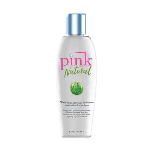 Pink Natural Water Based 4.7 oz (140 ml) Personal Lubricant Empowered Products Inc